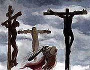 耶稣死亡.版权所有. Copyrighted.