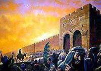 耶稣骑驴.版权所有.