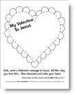 Valentine to Jesus