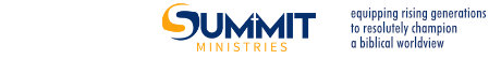 Summit Ministries HOME page