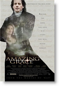 Amazing Grace. Copyrighted poster.
