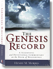 Cover of The Genesis Record (book)