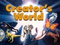 Creator's World. Illustration copyrighted, Films for Christ