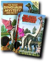 The Great Dinosaur Mystery - Book and Video