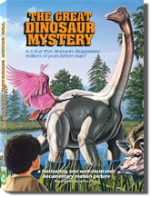 Front cover - The Great Dinosaur Mystery (DVD)
