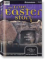 The True Easter Story - front cover.