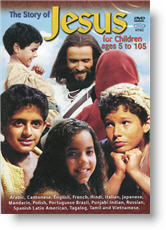 Front cover - The Story of Jesus for Children (DVD video)