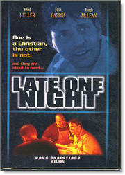 DVD box art for Late One Night