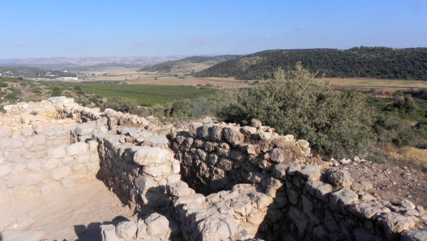 View of the Valley of Elah (2011). Photo © copyrighted.