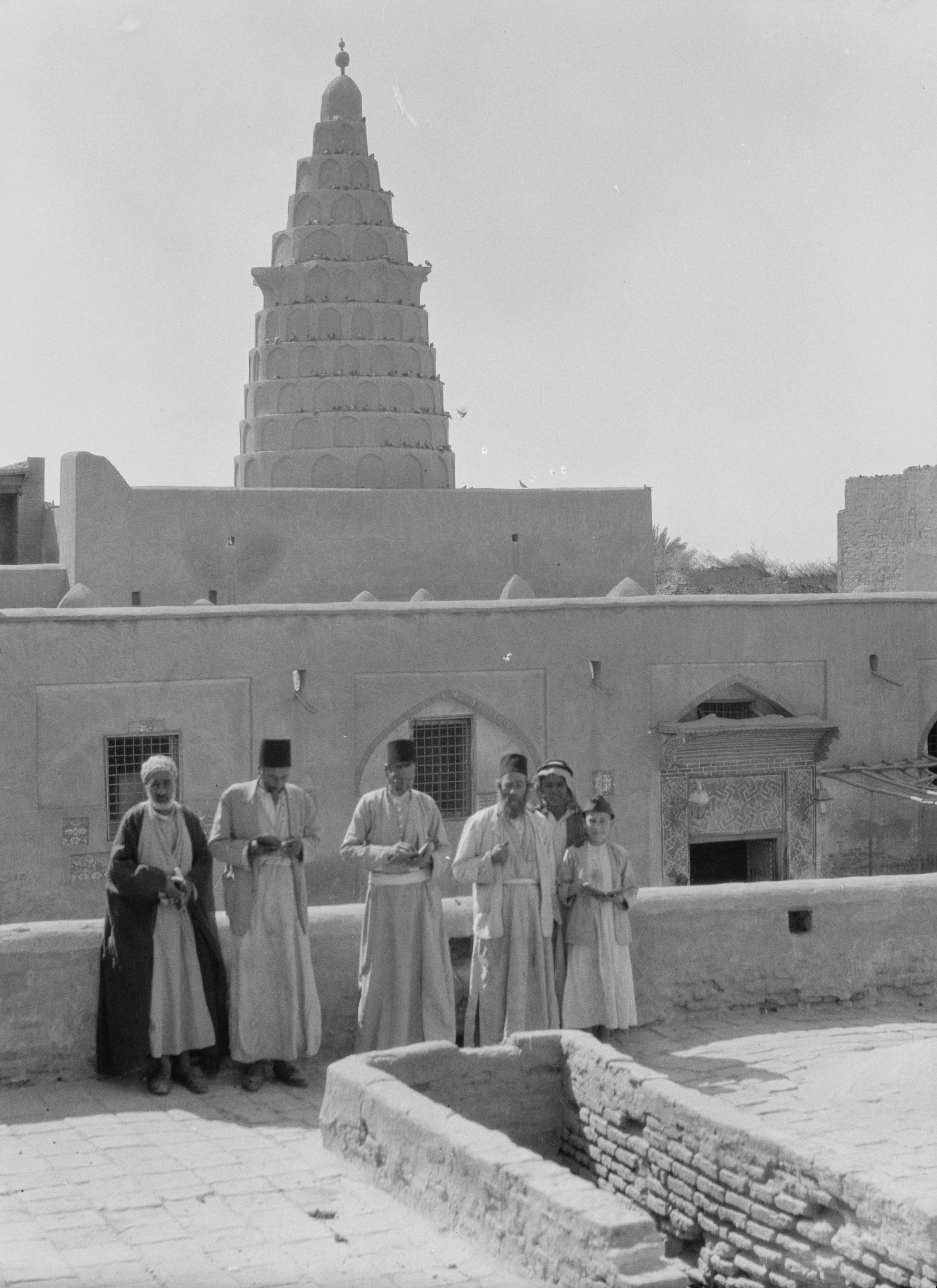 Tomb of Ezekiel at Al Kafil (Bagdad, Iraq) 1932.
