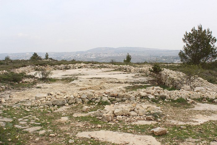 Ruins of Jeroboam's Temple
