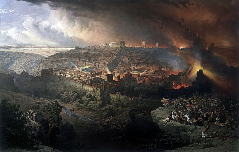 he Siege and Destruction of Jerusalem by the Romans Under the Command of Titus, A.D. 70