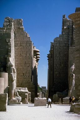 ruins of ancient temple in Egypt