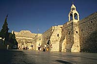 Bethlehem's Manger Square and Church of the Nativity (photo copyrighted)