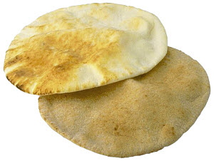 Copyrighted © image. Flat bread.