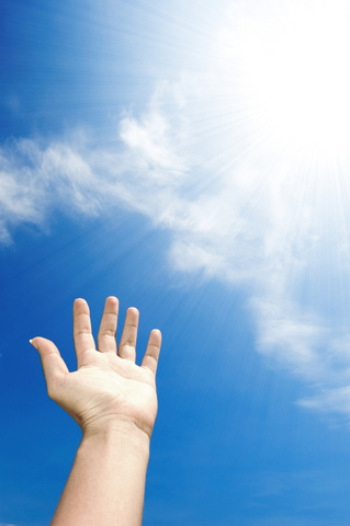 Hand. Photo copyrighted © Dreamstime. Licensed for use at Christian Answers