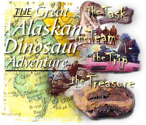 navigation for The Great Alaskan Dinosaur Adventure