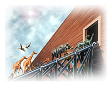 Dinosaurs on the Ark. Copyrighted by Films for Christ.
