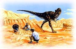 Dino Dig. Copyright 1993 by Jeff Doten. All Rights Reserved. Used with permission.