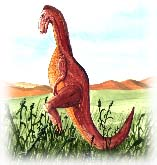 Edmontosaurus. Copyrighted by Films for Christ.