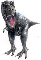 "Ferocious Dinosaur! Copyright 1996 by Randy ""Tarkas"" Hoar. All Rights Reserved. Used with permission."