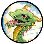 Dragon. Copyright 1994 by George Barr. All Rights Reserved. Used with permission.