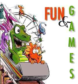 Fun and Games! Cartoon copyright 1996, Kevin Brockschmidt. All Rights Reserved.