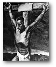 The Crucifixion of Isa al Masih.