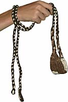 A sling such as David may have used. Copyright 2002, Paul S. Taylor, Films for Christ.
