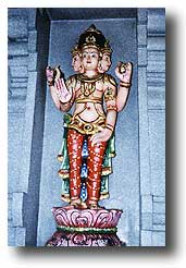 The Hindu god Brahma. Photo supplied by Dr. Winfried Corduan