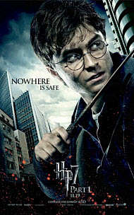 Harry Potter movie poster - 2010