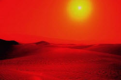Desert sun. Photo copyrighted. (Courtesy of Films for Christ).