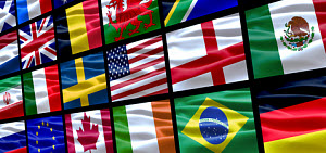 Flags. Photograph copyrighted © Djburrill