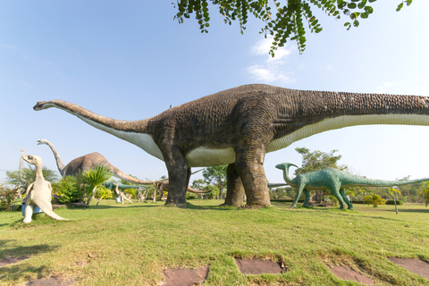 Copyrighted image. Dinosaur statues in Kalasin province, Thailand. © Myibean | Dreamstime.com