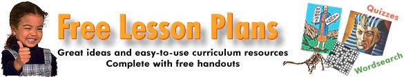 Free Lesson Plans - Copyright ChristianAnswers.Net