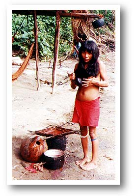 Indian Woman Cooking. Photo copyright by AAJ.
