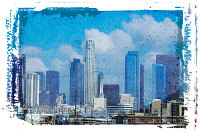 L.A., California. Illustration copyrighted.