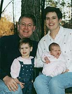 Tim Wilkins family. Photo copyrighted, Cross Ministry.