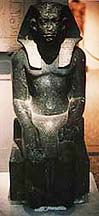 Statue of Sesostris III. Photo copyrighted.