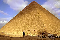 Khufu Pyramid - Giza Plateau, Cairo. Photo copyrighted. Courtesy of Films for Christ.