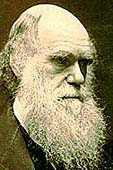 Charles Darwin portrait. Photo copyright, Films for Christ.