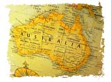 Map of Australia. Copyrighted. Courtesy of Films for Christ.