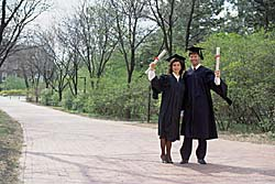 Graduates. Photo copyrighted. Courtesy of Films for Christ.