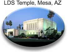 LDS Temple, Mesa, Arizona