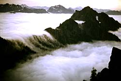 Mountains and clouds. Photo copyrighted. Courtesy Films for Christ.