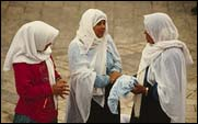 Muslim women. Photo copyrighted. Courtesy of Films for Christ.