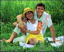 Couple Enjoying Picnic. Photo copyrighted. Courtesy of Films for Christ