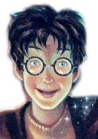 Harry Potter as appearing on the book cover of 'Harry Potter and the Goblet of Fire'