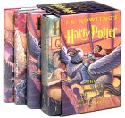 Harry Potter set of books 1-4