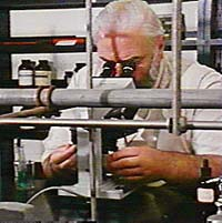 Research scientist. Photo copyrighted. Courtesy of Films for Christ.